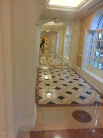 The Venetian Las Vegas: corridoio