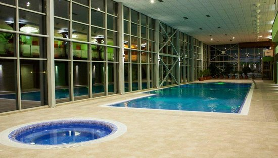 Hotel Sirius Spa & Wellness : Indoor swimming pool