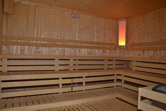 Hotel Sirius Spa & Wellness : Finish sauna