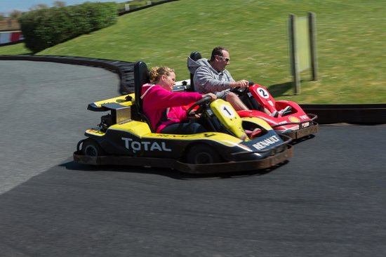 Newquay, UK: Go Karts