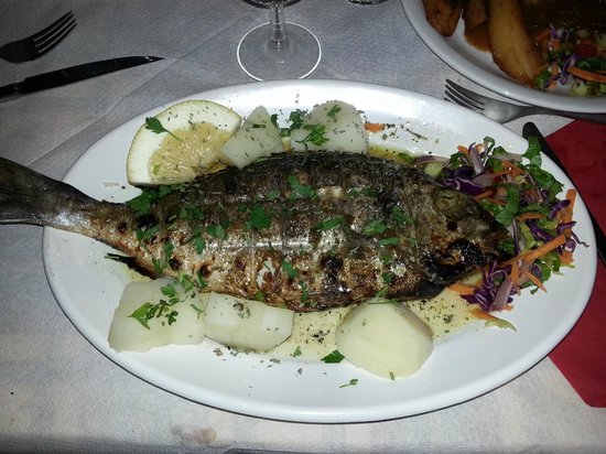 Taverna Minori : Wil je lekkere vis,ga naar Minore