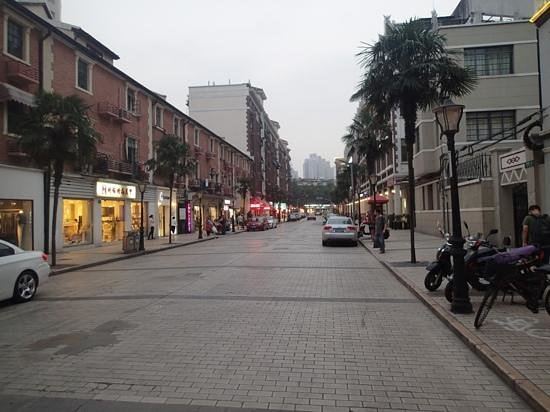 Pudi Boutique Hotel: De straat voor het hotel