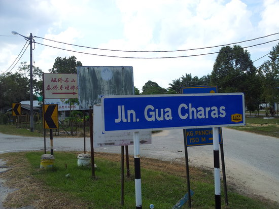 Kuantan District, Malaysia: Signboard at the Junction