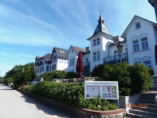 Hotel Asgard: Ansicht Seeseite