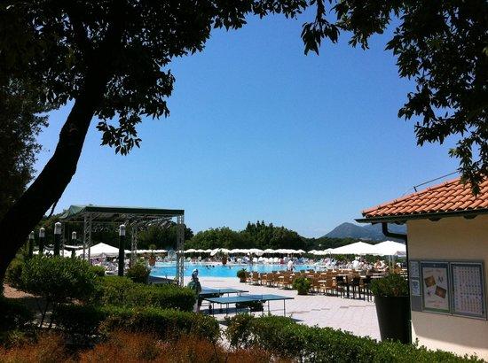 Valamar Club Dubrovnik: Vy över poolområdet