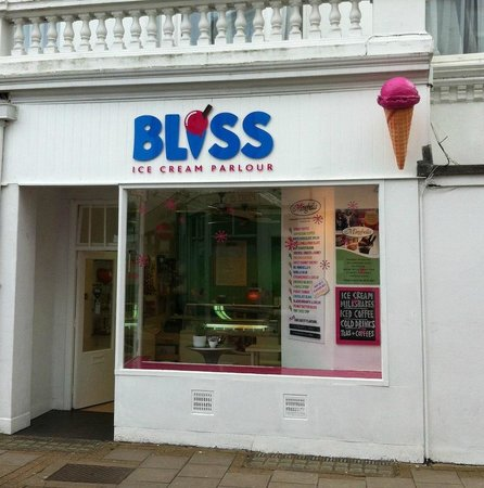 Bliss Ice Cream Parlour: Look out for Bliss on the high street in Sandown
