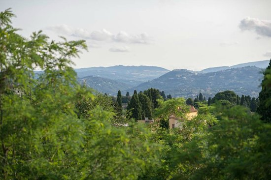 Park Palace Hotel: View of Florence from our room (Fiesole)