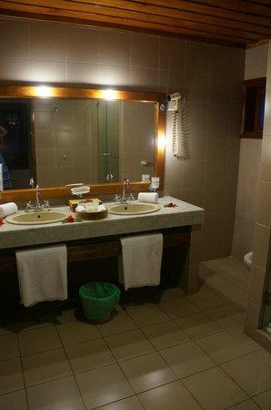 Hotel L'Archipel: Bad Zimmer 02