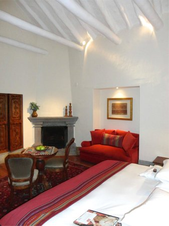 Inkaterra La Casona Relais & Chateaux: Balcon suite
