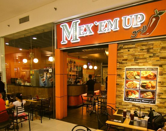 MEX 'EM Up Grill: We are located at Robinsons Place Tacloban City