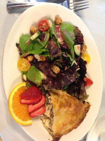 The Ploughcroft Tea Room: Chicken and Mushroom Pie