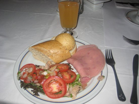 IBEROSTAR Paraiso Del Mar: Un exemple du petit déjeuner.