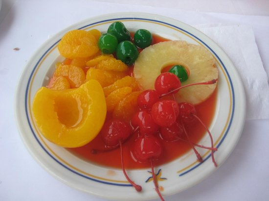 IBEROSTAR Paraiso Del Mar: Un exemple du dessert petit déjeuner
