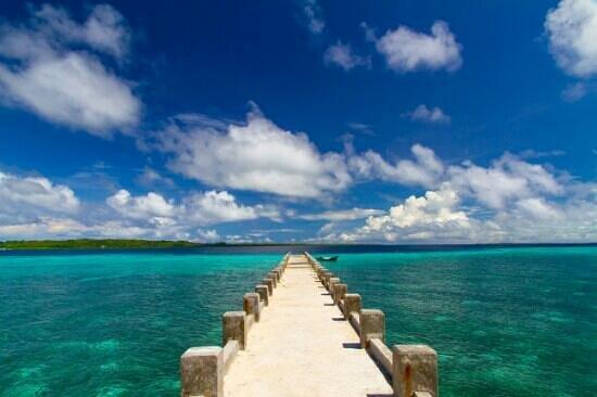 Wakatobi Hoga Diving: bridge
