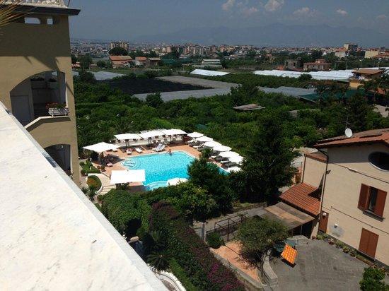Arial Of Pool Picture Of La Medusa Hotel Dimora Di Charme Castellammare Di Stabia Tripadvisor