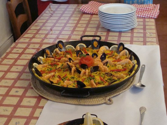 Cortijo Rosario : Paella night - delicious