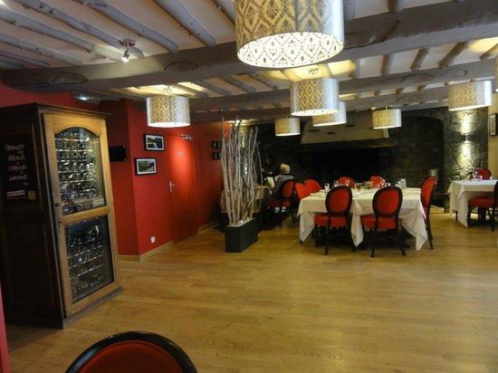 Au Site Normand Hotel-Restaurant : Dinning room