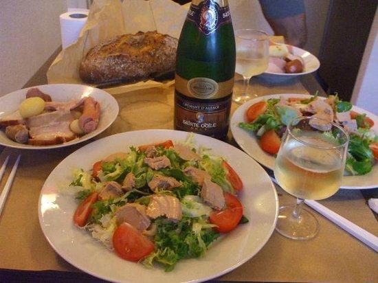 Adagio Access Strasbourg Petite France : 夕飯も作れます