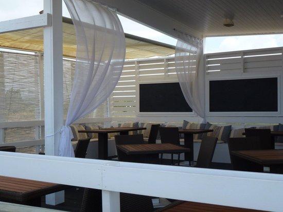 Falesia  Beach: The beach bar
