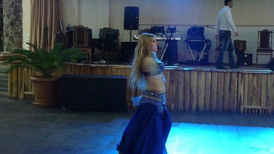 Aquatek Resort and SPA: Belly dancing
