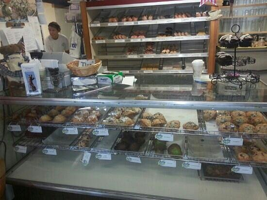 Blueberry Muffin: A look at their muffins and donuts