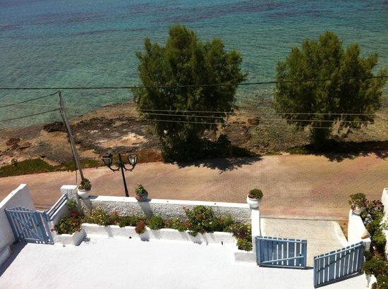 Seaside Studios: balcony