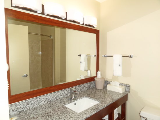 Comfort Inn & Suites Coralville: Bathroom Amenities