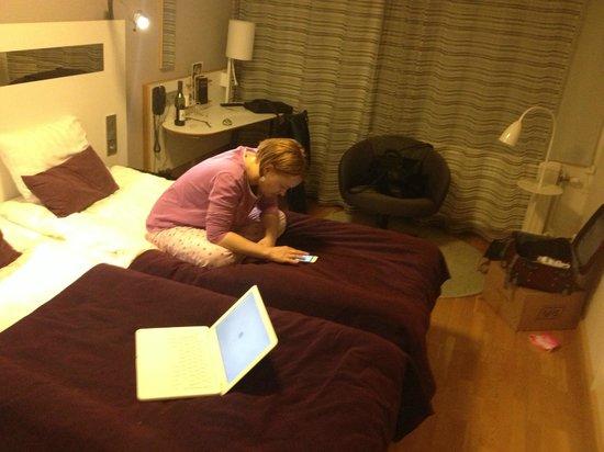 Scandic Hotel Uplandia: Room