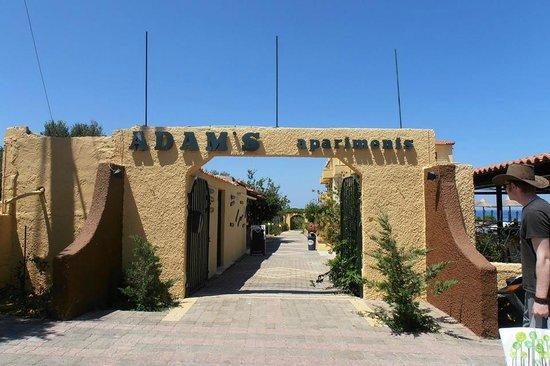 Adams Apartments : Entrance