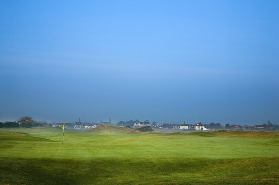 Leven Thistle Golf Club: Leven In The Distance
