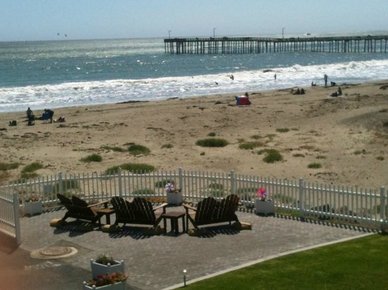 Cayucos Shoreline Inn...on the beach: view from our balcony! loved it!!!