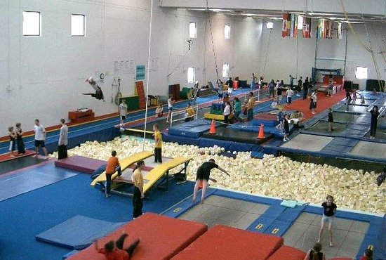 Trampoline World Gymnastics