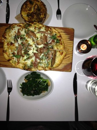 Top Flr : Our food for the evening.