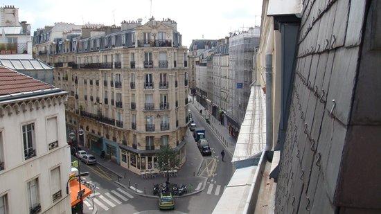 Hotel Albe Bastille: Panorama dal terrazzo della camera