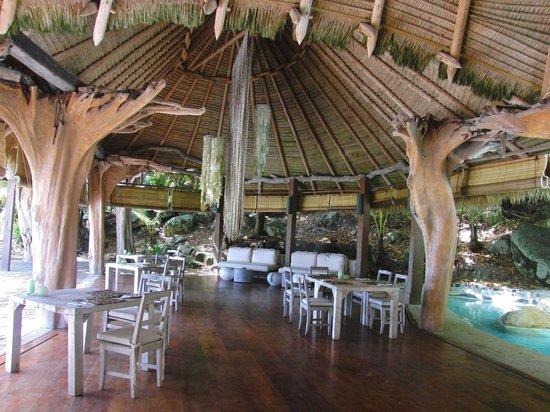 "North Island Seychelles: Restaurant ""Piazza"""