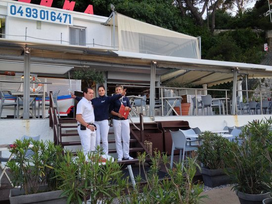 Plage Restaurant Paloma Beach : great Staff!