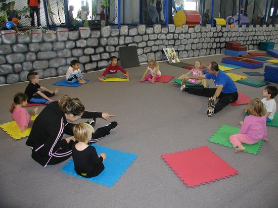 Trampoline World Gymnastics : Preschool Class