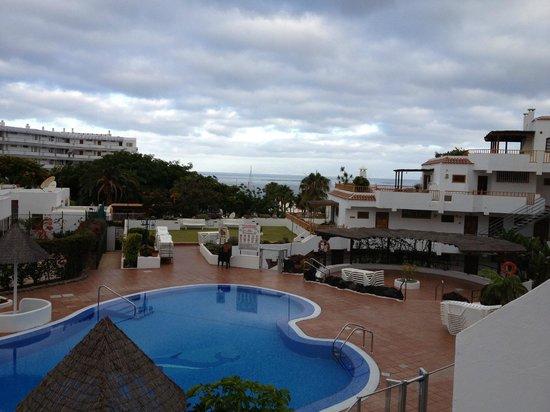 Los Geranios: vu terrasse