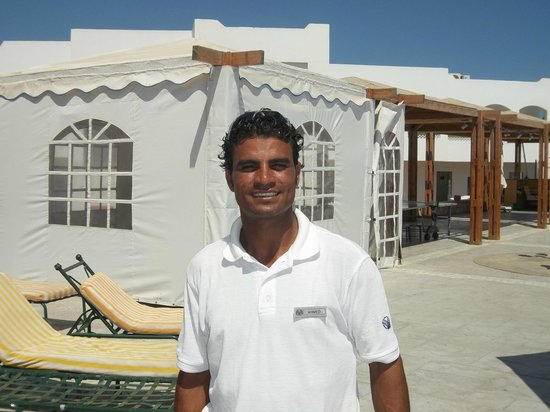Coral Beach Resort Tiran: one of our friends