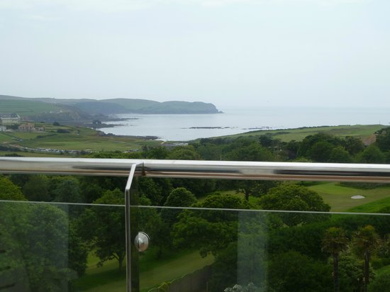 Thurlestone Hotel: View from our balcony