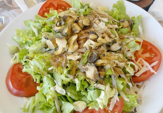 Sirius Beach: Салат из ропанов