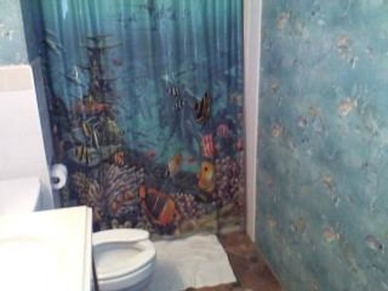 Kings Inn Motel: The Bathroom