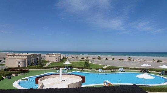 Masirah Island Resort: Blick vom Zimmer