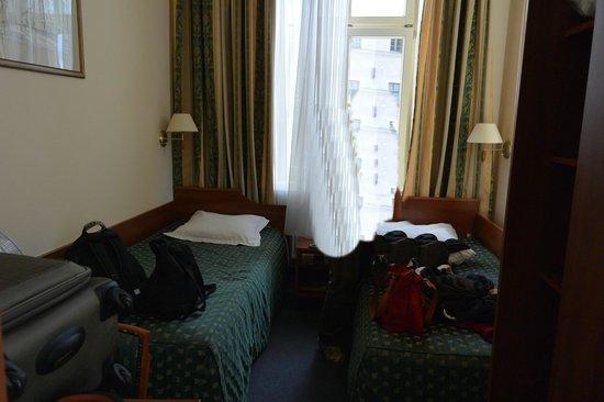 Hotel Tumski: Chambre minuscule
