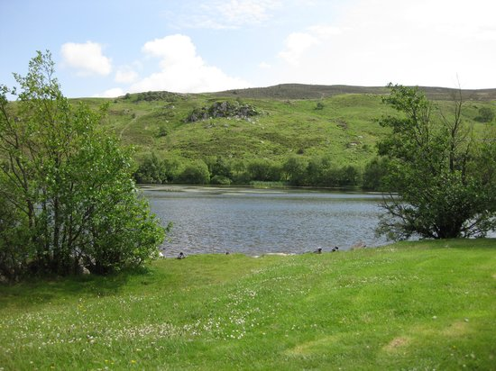 Brynteg Holiday Home Park: Lake