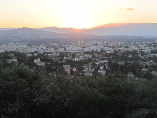 Phare de la Garoupe : Sunset View