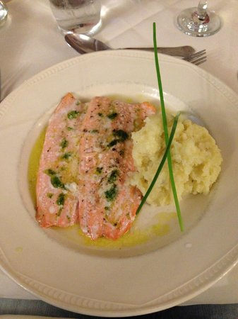Ormonde House Hotel: Trout fillets very nice