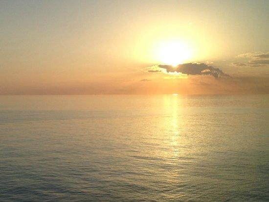 Pompano Beach Club: Sunset