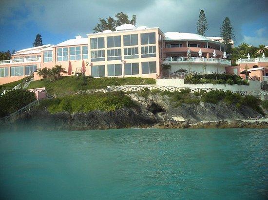 Pompano Beach Club: View from near raft