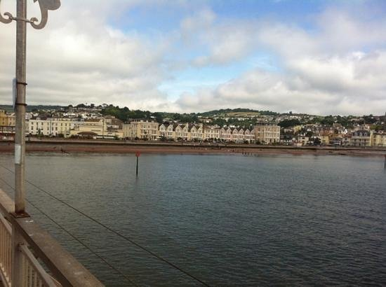 Grand Pier: teignmouth from the pier